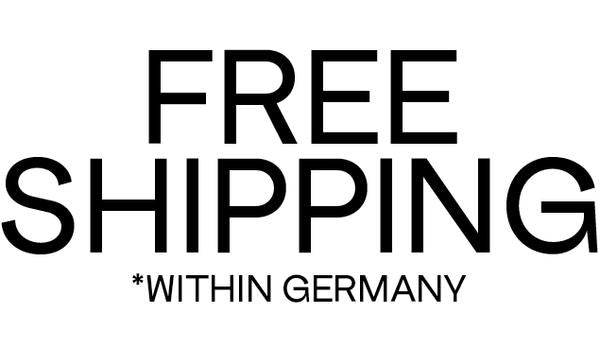 Free Shipping within Germany