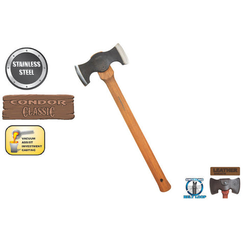 Chopping and Splitting Cruiser Axe - The Prepper Supply