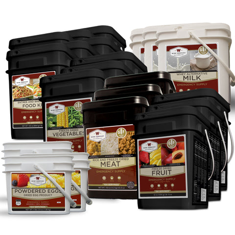 Gluten-free Ultimate Savings package - 6 Month Supply for 1 Person - The Prepper Supply