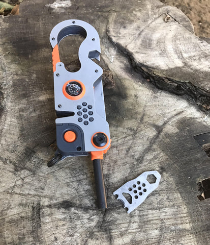 Nomad, the Ultimate Survival Multi-tool - Made in the USA