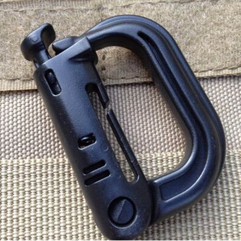 Molle Tactical Backpack Locking Shackle/Carabiner, Snap D