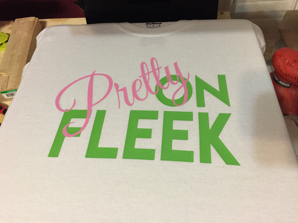 Pretty on Fleek Women T-Shirt (Black) - 550strong
