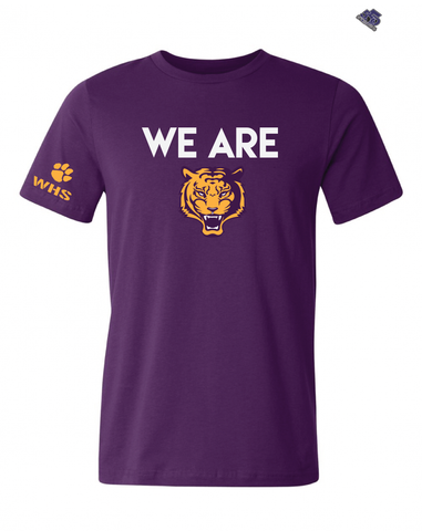 HS - We Are Wilson (Tigers) High School T-Shirt - Purple - 550strong