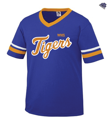 HS - Wilson Tigers High School V-Neck Jersey - 550strong