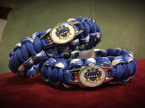 Paracord - Tau Beta Sigma (Blue and White) - 550strong