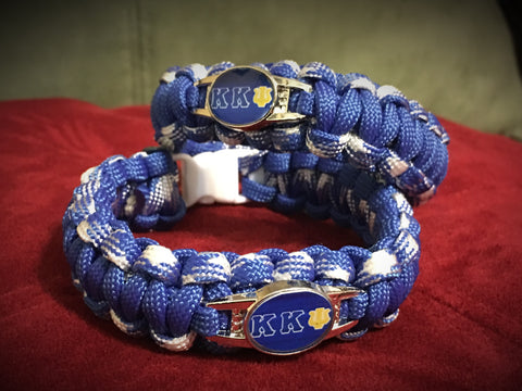 Paracord - Kappa Kappa Psi (Blue and White) - 550strong