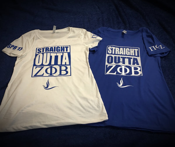Greek - Zeta - Straight Outta 1920 - 550strong