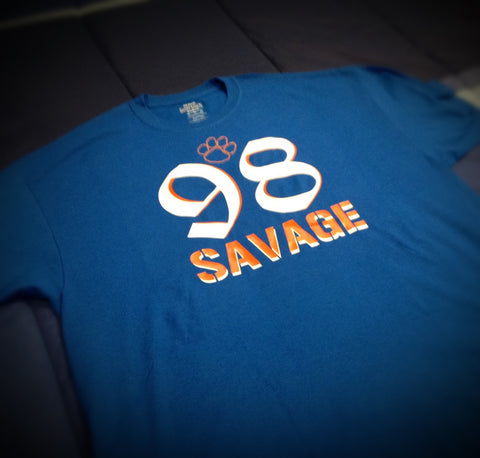 HS - 98 Savage Hemingway High School T-Shirt - 550strong