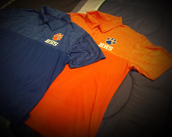 HS - Hemingway Tigers Polo Shirt - 550strong
