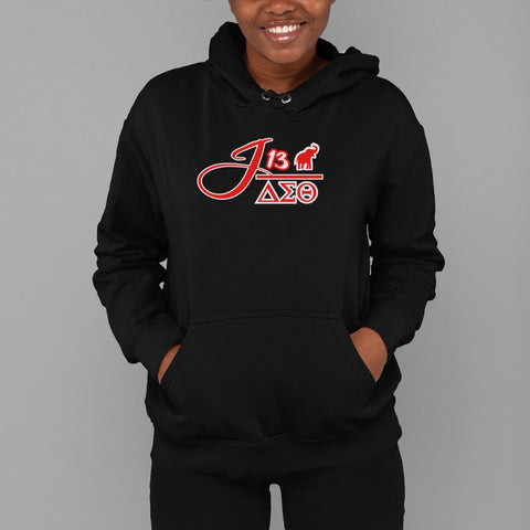 Greek - Delta Sigma Theta J13 v3 Hoodie - 550strong