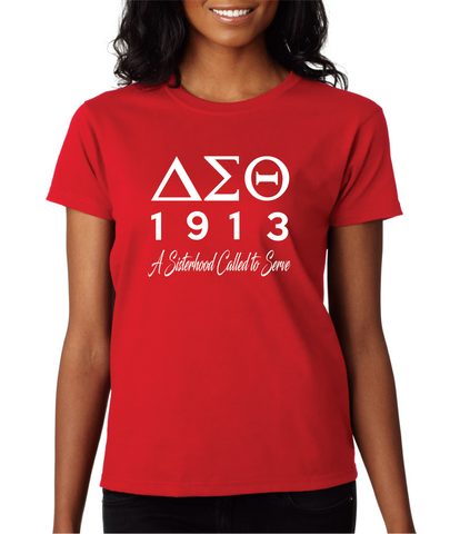 Greek - DST Sisterhood T-Shirt - 550strong