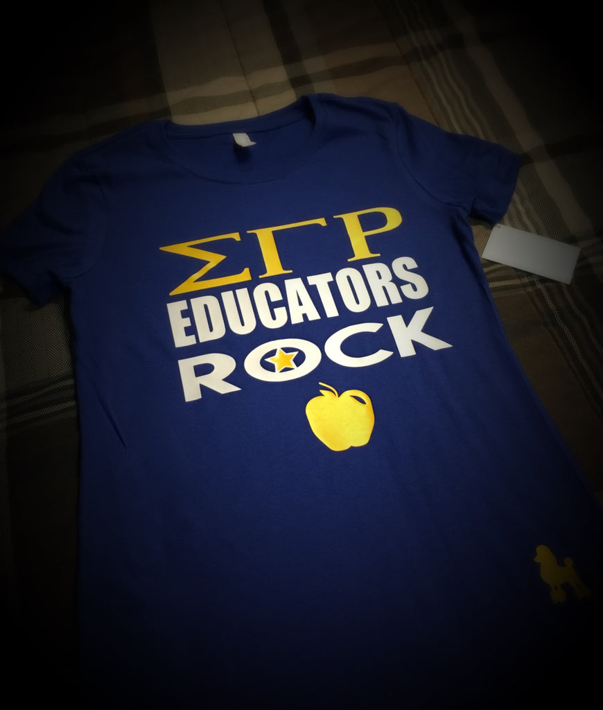 Greek - SGRho Rock T-Shirt - 550strong