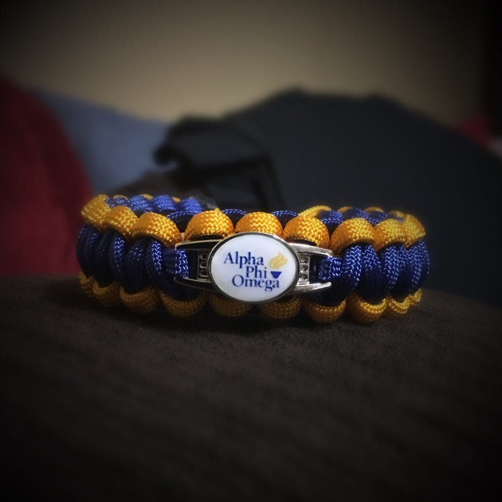Paracord - Alpha Phi Omega (APO) - 550strong