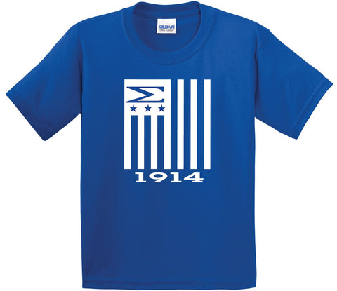 Greek - PBS Flag - Phi Beta Sigma Greek T-Shirt - 550strong