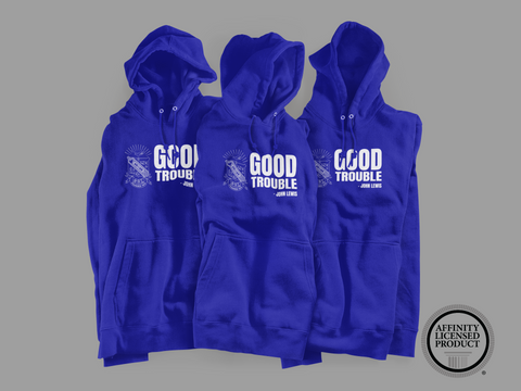 Greek - Good Trouble Phi Beta Sigma Hoodie (John Lewis Edition) - 550strong