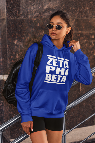 Greek - Zeta Phi Beta Hoodie - Reto DMC - 550strong