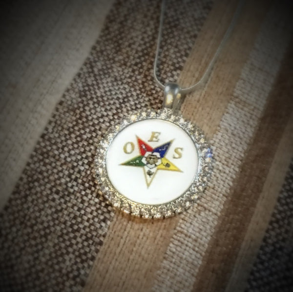 Pendant -  OES(Order of The Eastern Star) Pendant - 550strong