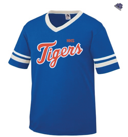 HS - Hemingway Tigers High School V-Neck Jersey - 550strong
