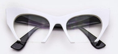 Cat Eye Statement Glasses