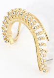 Wrapped in Diamonds Ear-Cuff