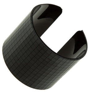 Metal Grid Cuff Bangle
