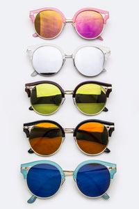 Chicsee Mirrored Aviator Sunglasses