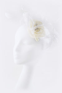 Feather & Mesh Statement Fascinator