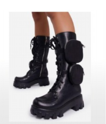 Laura Croft Combat Boot