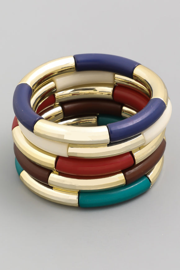 Tube Stretch Bangles