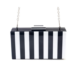 Striped to Perfection Clutch