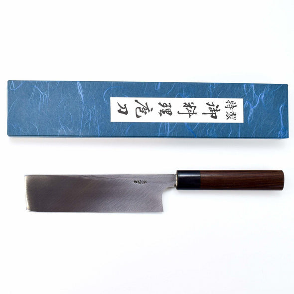 Kitaoka Blue #2 Suminigashi Usuba 180mm-Knife-Kitaoka-Carbon Knife Co