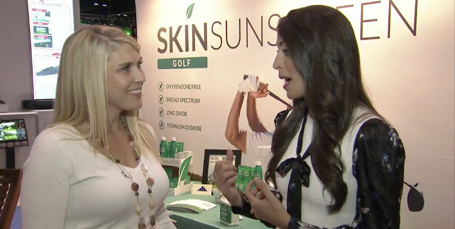 Golf Channel's 'Morning Drive' Features SKIN Sunscreen