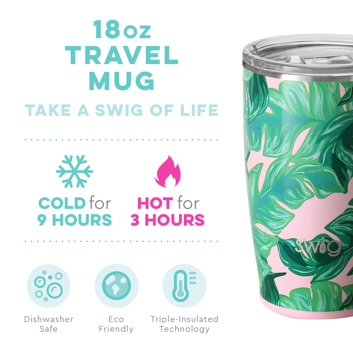 Swig Palm Beach 18 oz Mug