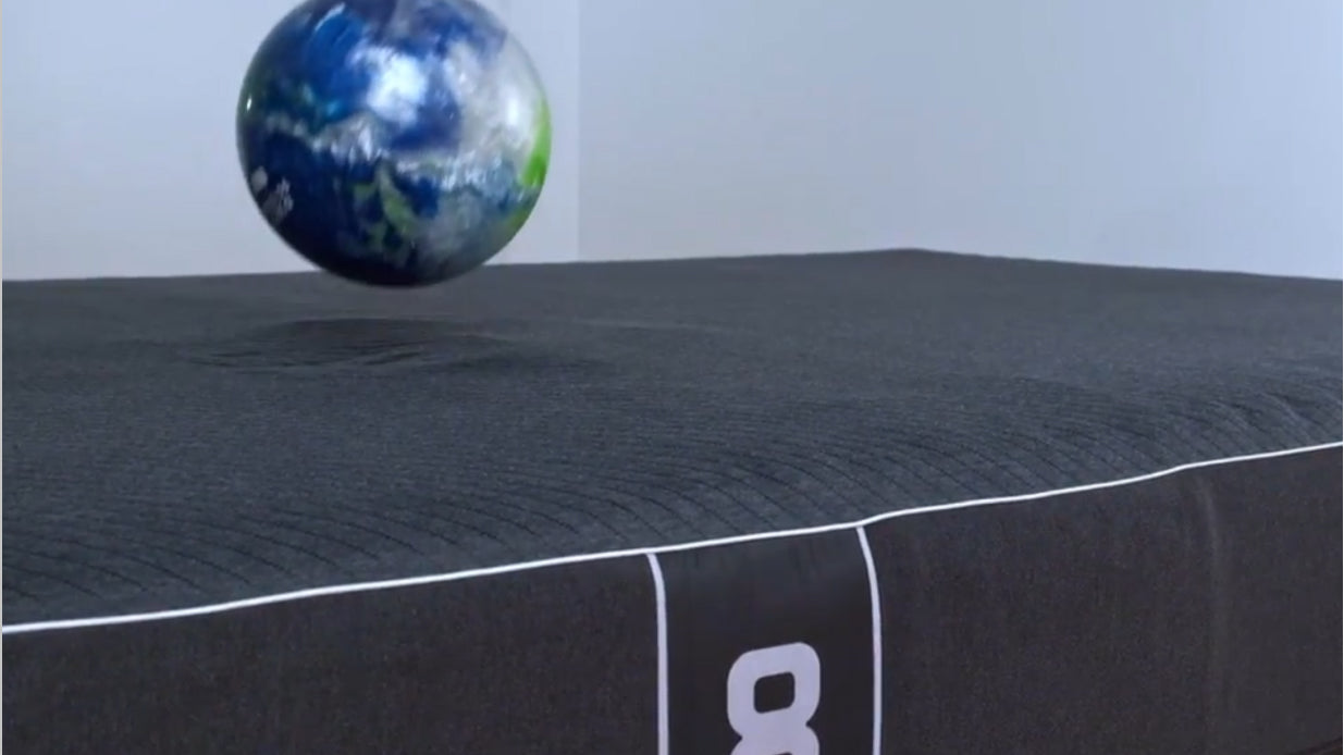 bowling ball about to fall on Pod Pro Active Grid