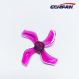 Gemfan 1636 4 blades props 40mm (1mm and 1.5mm fittings)