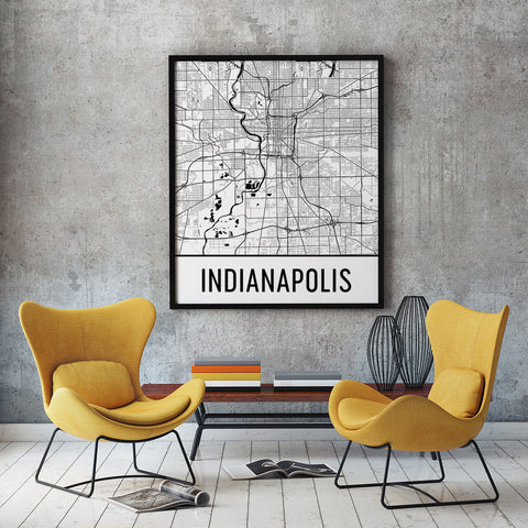 indianapolis city prints