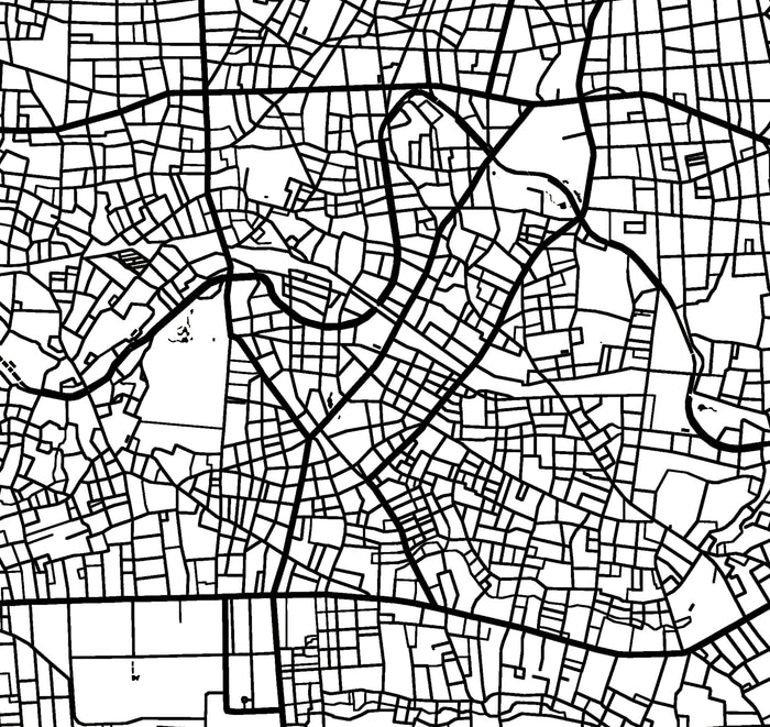 Line Art Yogyakarta : Custom map prints wall maps and personalized home decor