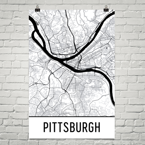 Pennsylvania Gifts, Souvenirs, and PA Décor – Modern Map Art