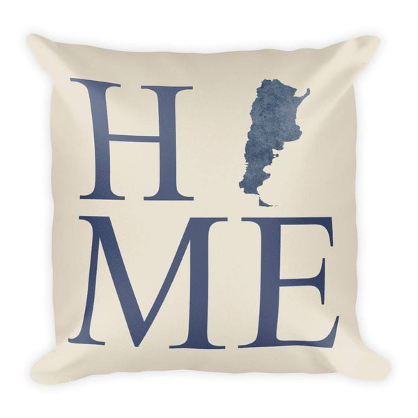 Argentina Map Pillow – Modern Map Art