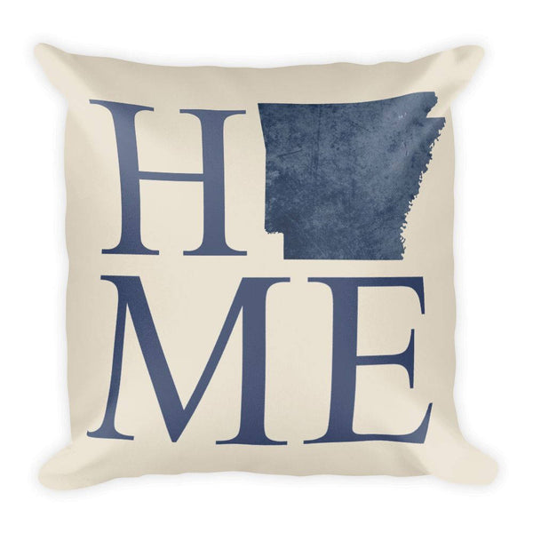 Arkansas Map Pillow – Modern Map Art