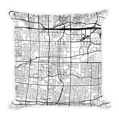 Arlington Map Pillow – Modern Map Art