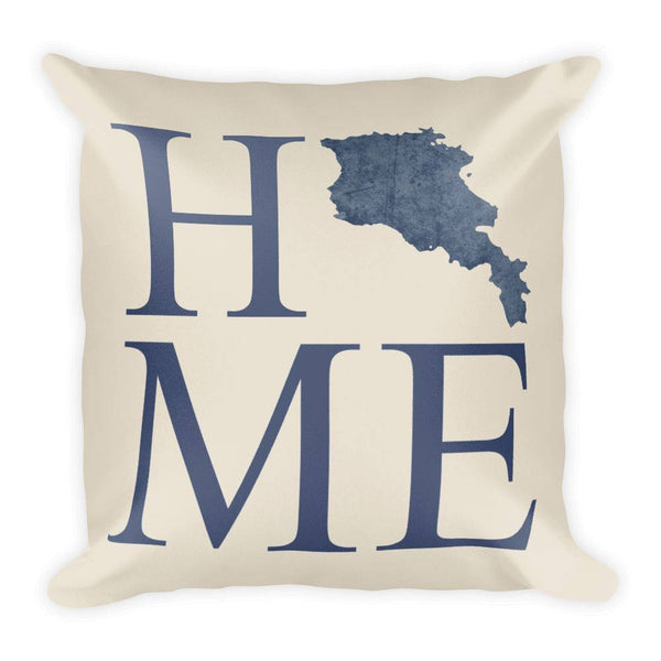 Armenia Map Pillow – Modern Map Art