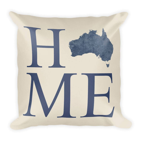 Australia Map Pillow – Modern Map Art