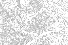 Bob Marshall Wilderness Topographic Map Art