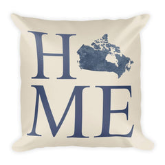 Canada Map Pillow – Modern Map Art