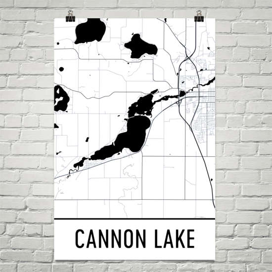 Cannon Lake MN Art and Maps