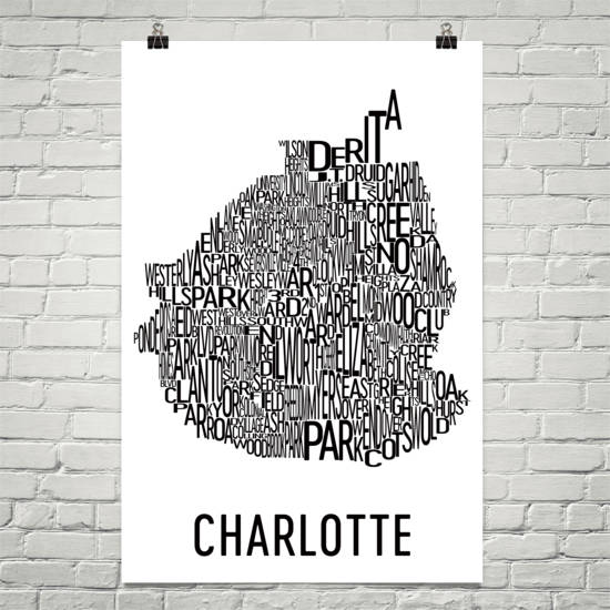 Charlotte Neighborhood Typography Prints – Modern Map Art on charlotte boxing, charlotte nc neighborhoods, charlotte-area map, dilworth charlotte map, charlotte subdivisions map, charlotte ward's map, real estate charlotte nc map, charlotte nicole holder, charlotte park map, steele creek map, charlotte community map, d.c. neighborhoods map, southeast charlotte map, charlotte district map, historic southend charlotte map, charlotte local map, charlotte region map, charlotte schools map, charlotte north carolina, charlotte transportation map,