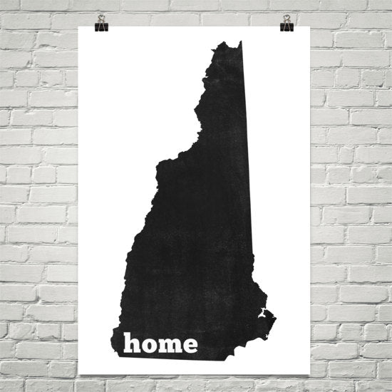 Delaware Home State Map Art