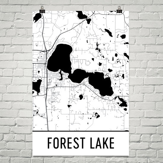 Forest Lake MN Art and Maps