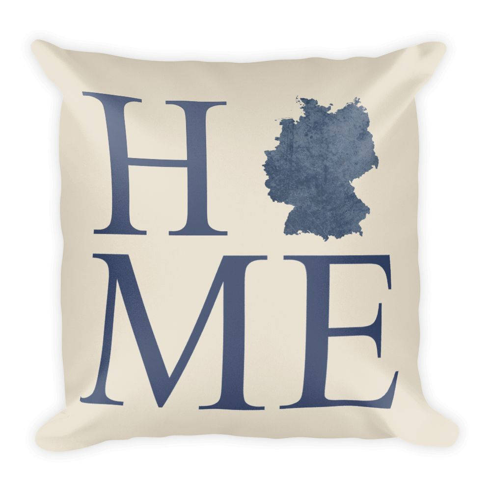 Germany Map Pillow – Modern Map Art